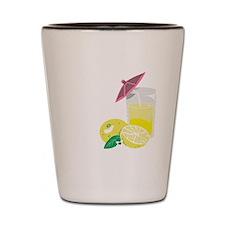 Lemon Drop Martini Shot Glass