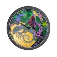 Lizard Magic Wall Clock