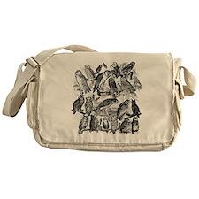 Vintage Owls Messenger Bag