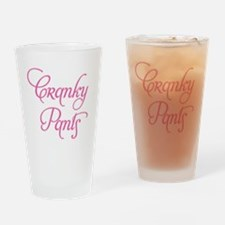 Cranky Pants Drinking Glass