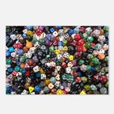 large dice pool Postcards (Package of 8)