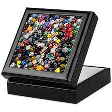 large dice pool Keepsake Box