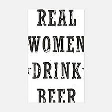 Real Women Drink Beer Bumper Stickers