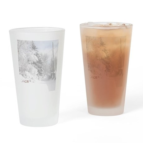 Notepad Drinking Glass