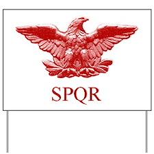 Roman eagle Yard Sign