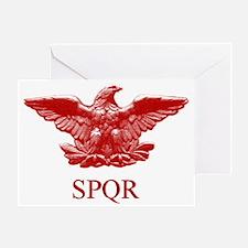 Roman eagle Greeting Card