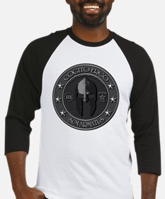 I Think Therefore I Am Armed Baseball Jersey