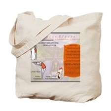 Bikram Yoga Postures #1 and #2 Tote Bag