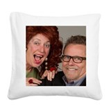 Dallas and savannah storm Square Canvas Pillows