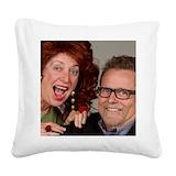 Dallas and savannah storm Square Canvas Pillows