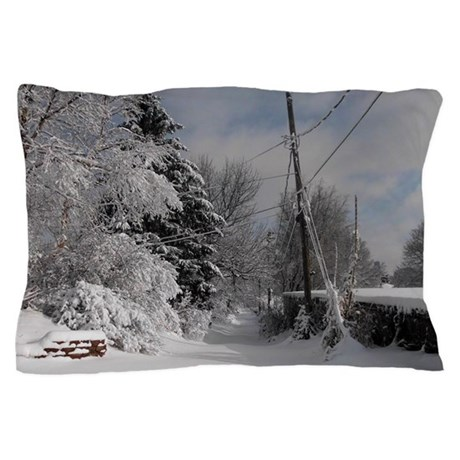 Oval Trailer Hitch Pillow Case