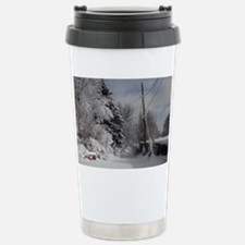 Oval Trailer Hitch Stainless Steel Travel Mug