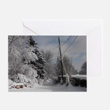 Oval Trailer Hitch Greeting Card