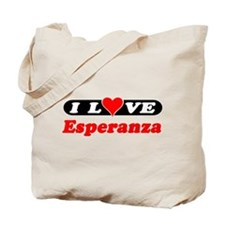 I Love Esperanza Tote Bag