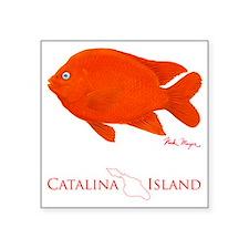 """Tall Garibaldi Square Sticker 3"""" x 3"""""""