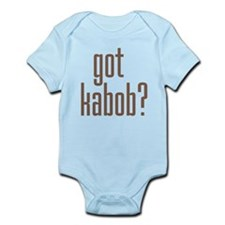 got kabob? Infant Bodysuit
