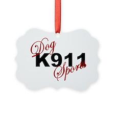 K911 DOG SPORTS Ornament