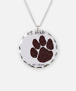 Elles Army - Stomp out Cance Necklace