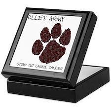 Elles Army - Stomp out Cancer Keepsake Box