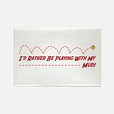 Mudi Play Rectangle Magnet (100 pack)