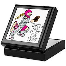 pink No Place Like Home Keepsake Box