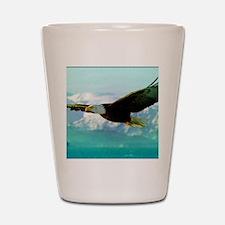 soaring eagle Shot Glass