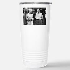 Soviet engineers and ph Stainless Steel Travel Mug