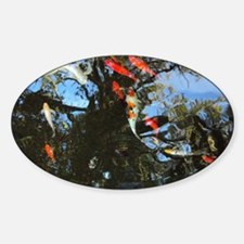 As Above So Below Koi Pond Decal