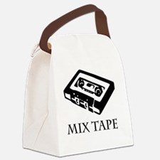 mix tape 80s tee old school  Canvas Lunch Bag