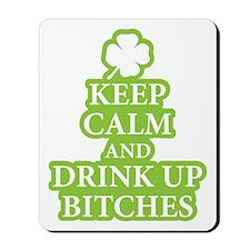 Keep Calm, Funny Irish Mousepad