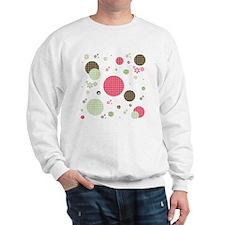 Gingham Polka Dots Daisies Sweater
