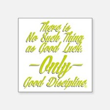 "HLC DISCIPLINE Square Sticker 3"" x 3"""