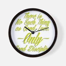 HLC DISCIPLINE Wall Clock