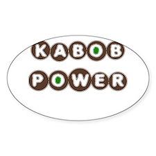 KABOB POWER Oval Decal