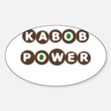 KABOB POWER Oval Decal