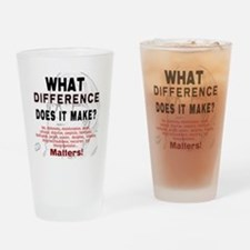 What Difference Does It Make Drinking Glass