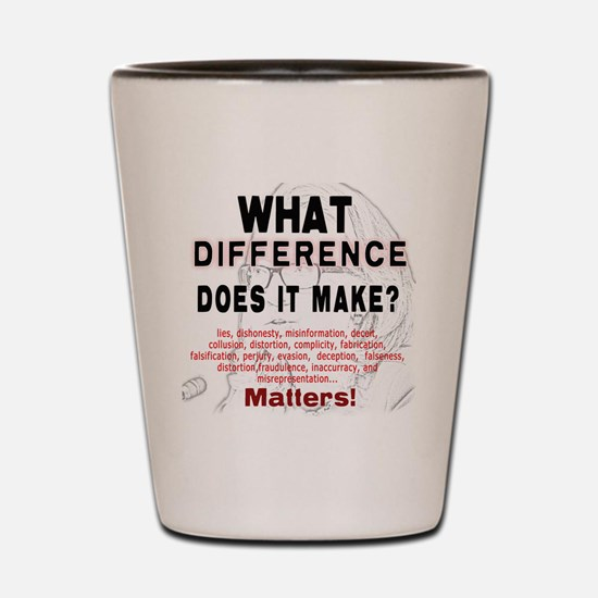 What Difference Does It Make Shot Glass