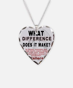 What Difference Does It Make Necklace