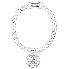 I love you to the moon a Charm Bracelet, One Charm