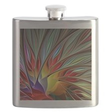 Fractal Bird of Paradise Flask
