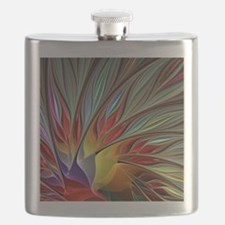 Fractal Bird of Paradise Flask