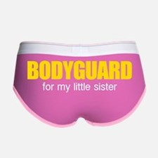 Bodyguard for my little sister Women's Boy Brief