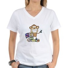 Scrapbook Monkey Shirt
