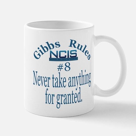 Gibbs Rule 8 Mug