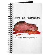 Cute Meat murder tasty tasty murder Journal