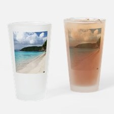 Cinnamon Bay, St. John USVI Drinking Glass