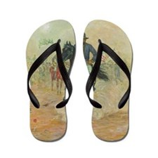 Grant by Charles W. Reed Flip Flops