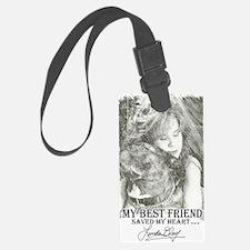 LBWF Best Friends Tshirt Luggage Tag