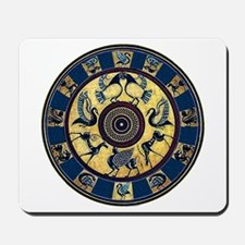 Greek Plate Mousepad