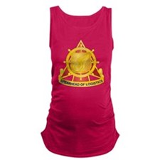 Transportation Corps Maternity Tank Top
